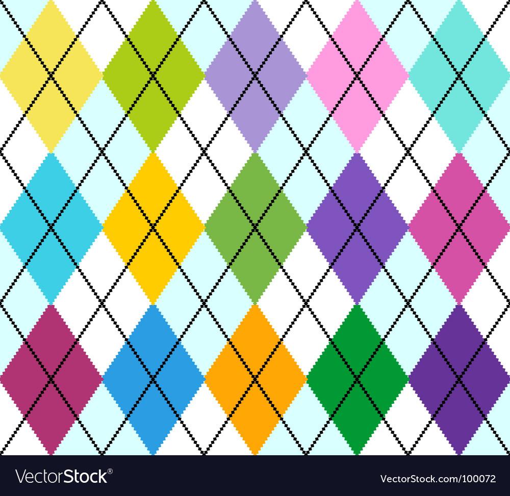 Argyle vector image