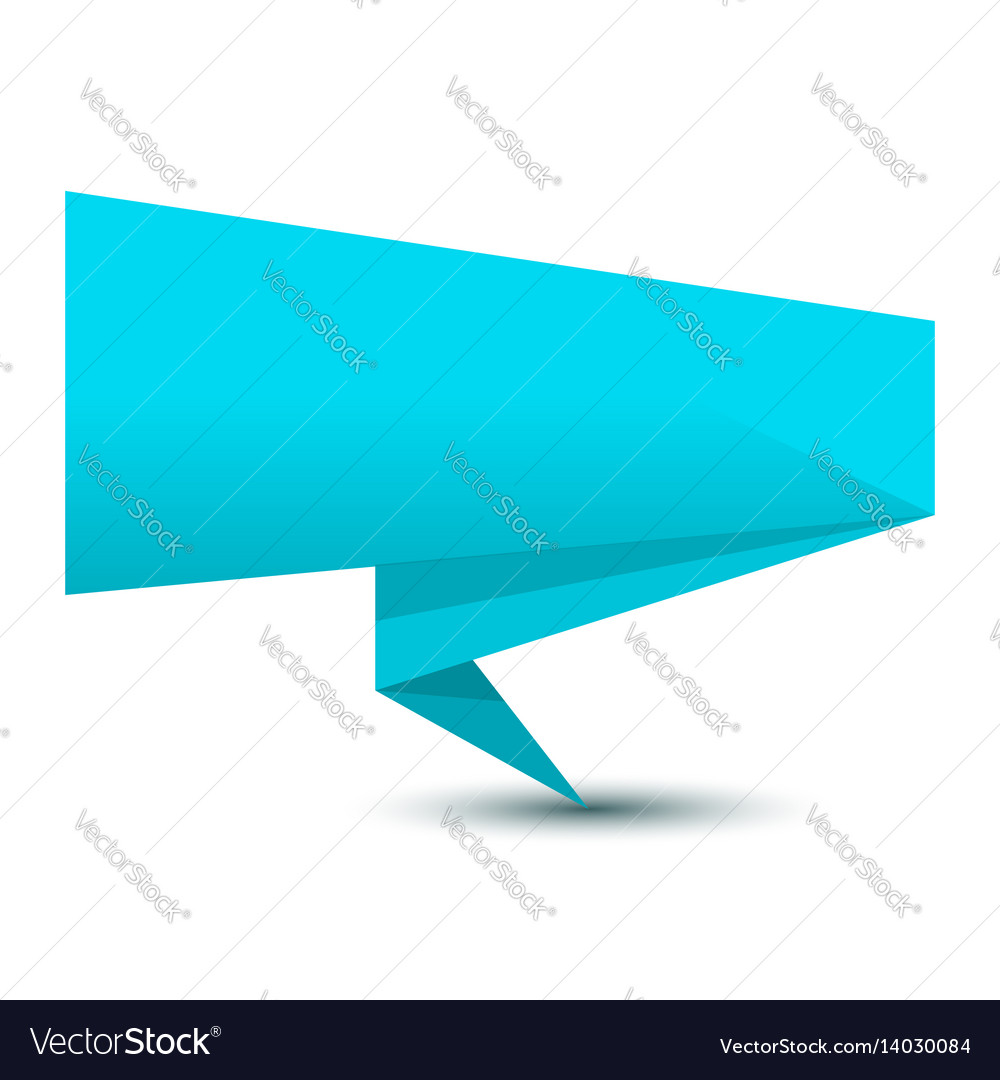 Banner pointer vector image