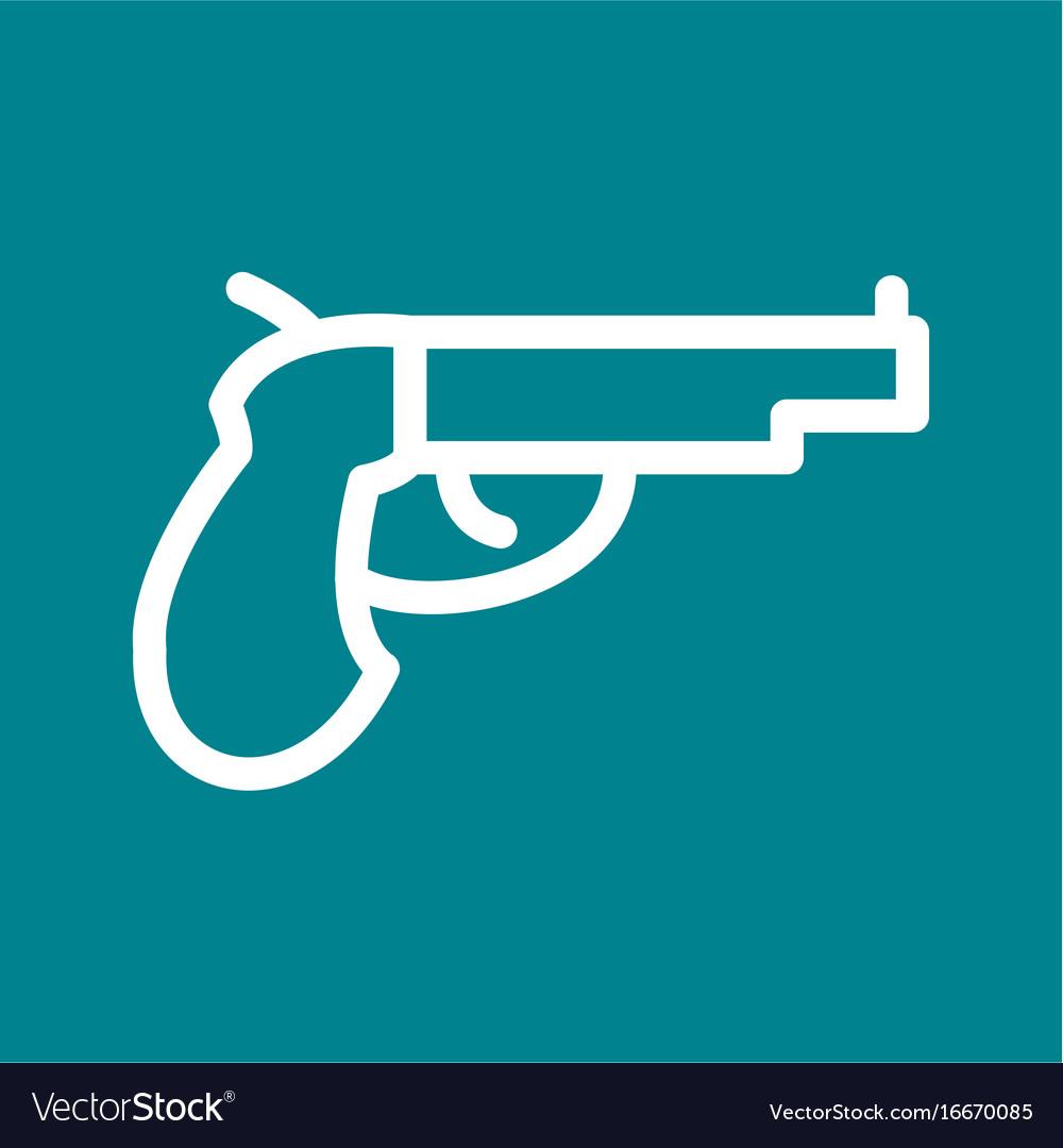 Pistol royalty free vector image vectorstock pistol vector image buycottarizona