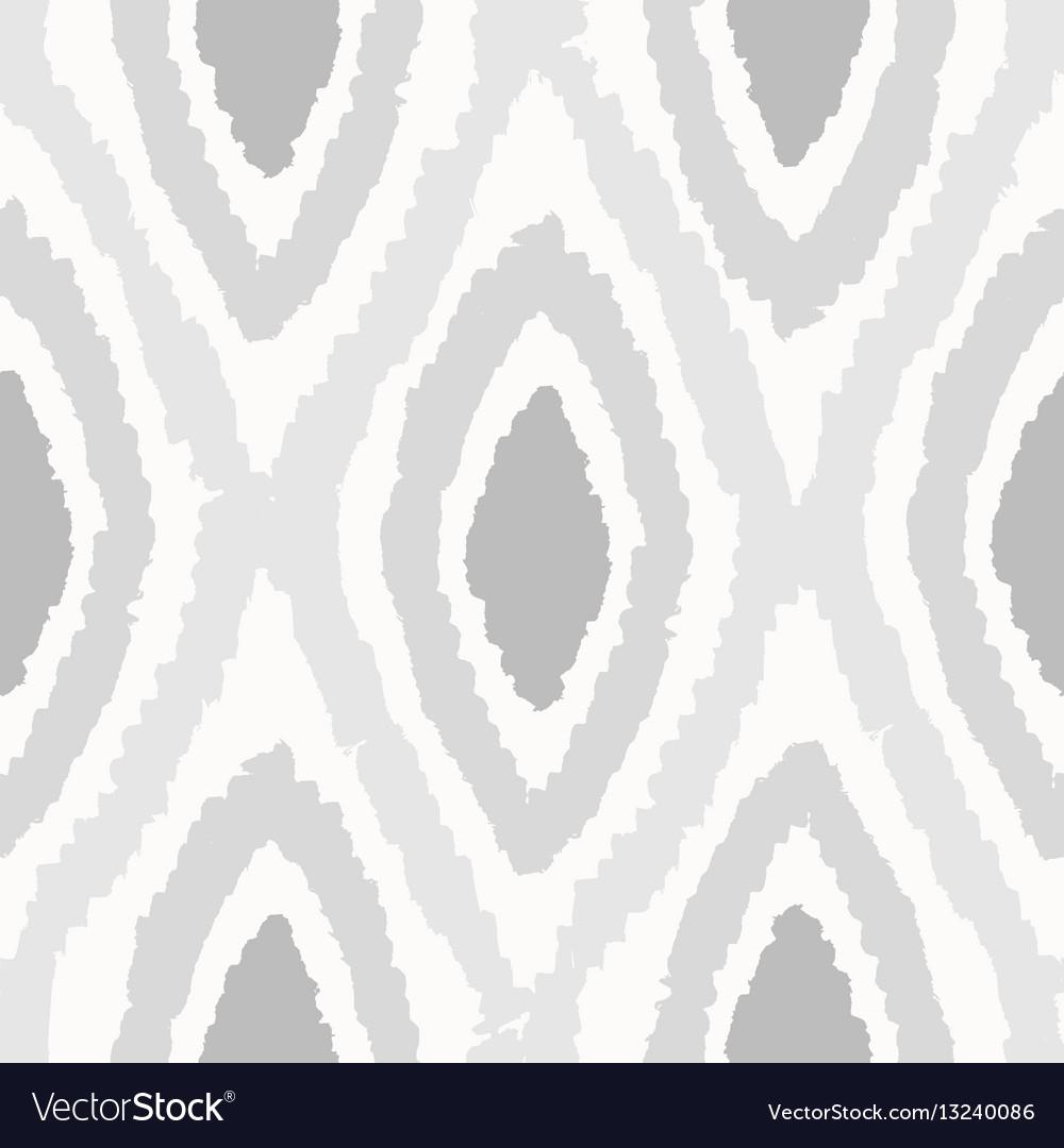 Grey rhombus seamless pattern vector image