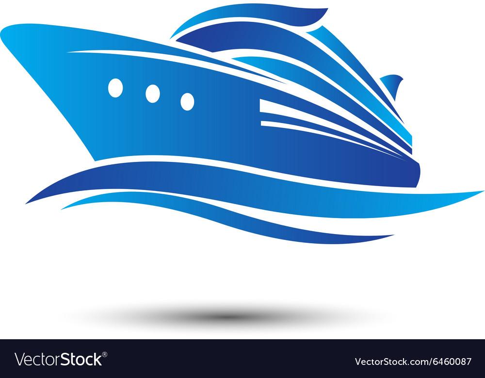 Cruise Ship Royalty Free Vector Image Vectorstock