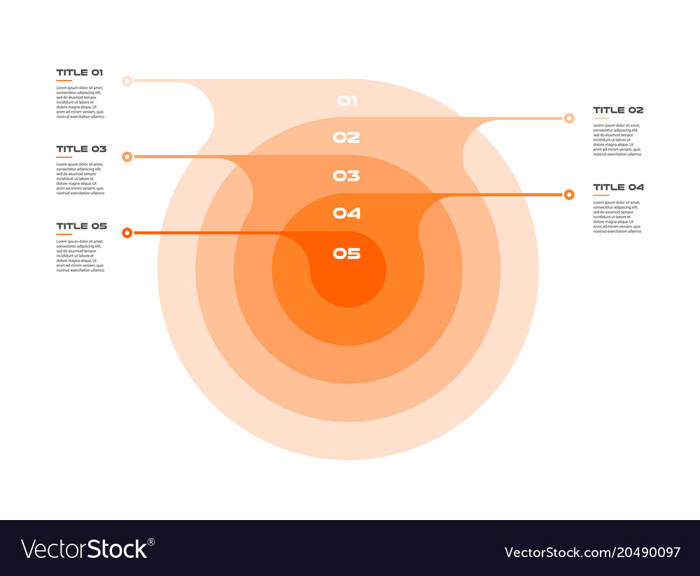 Concentric circles infographic vector images 62 pooptronica Choice Image