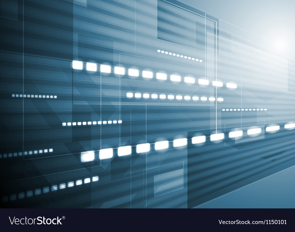 Dark blue motion background vector image
