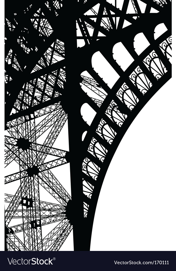Tour Eiffel vector image