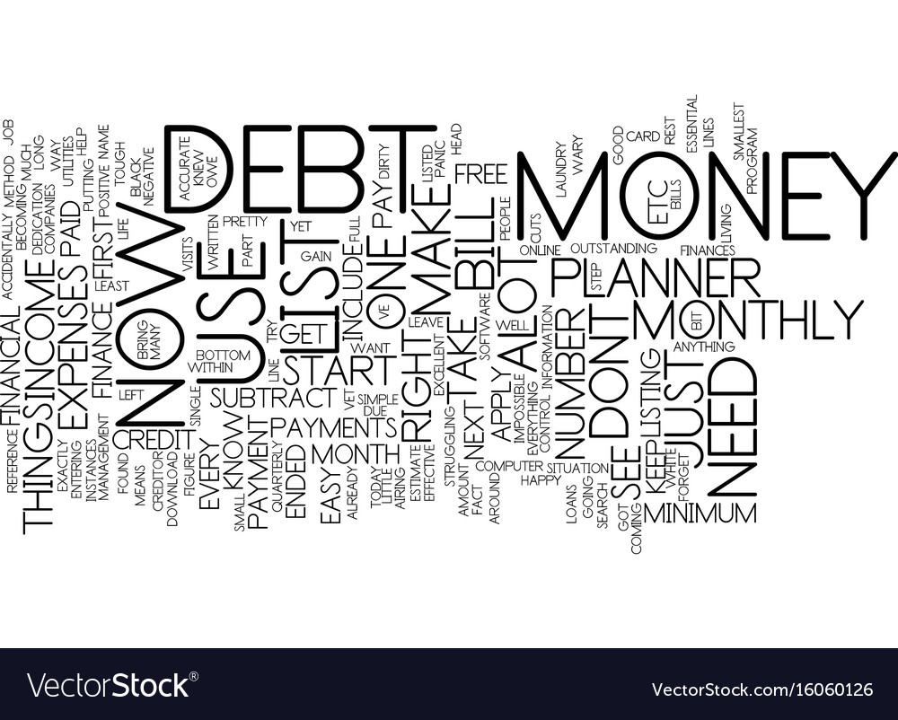 You dont need alot of money to use a finance vector image