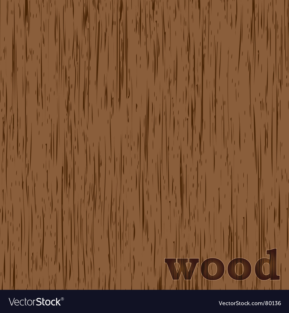 Wood grain background vector image
