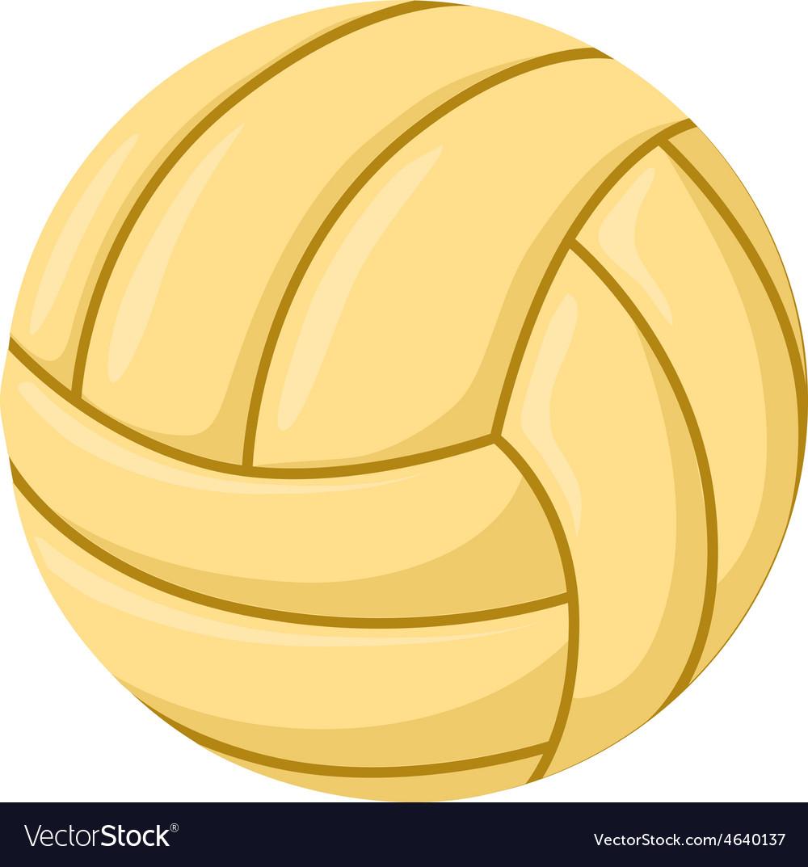 Ball beach toy vector image