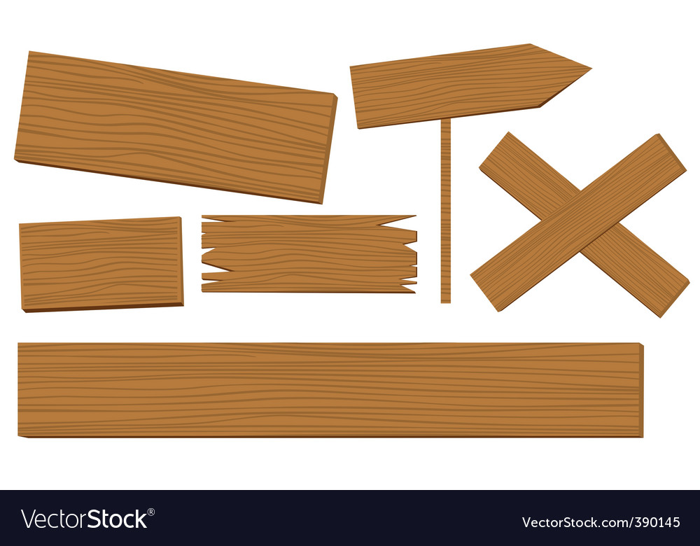 Sign posts vector image