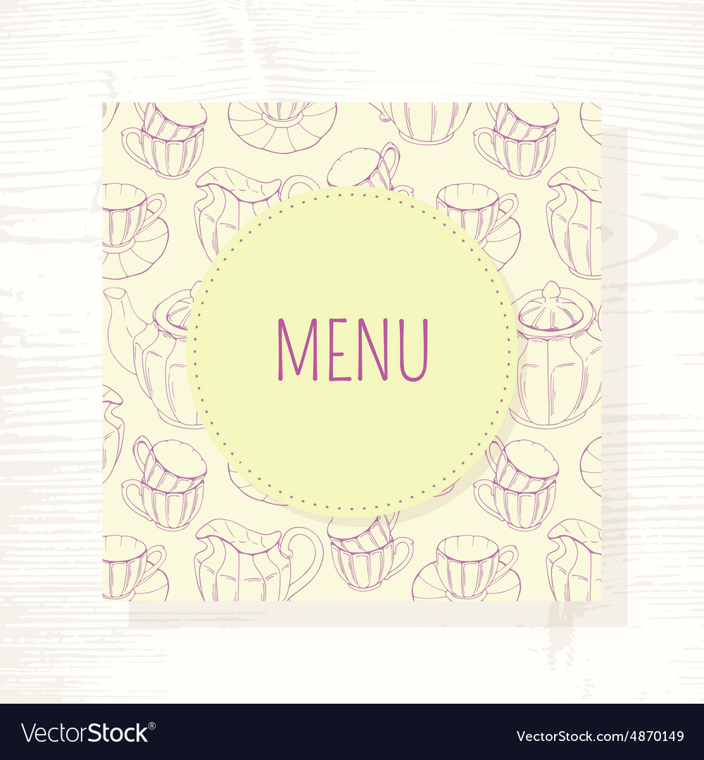 tea menu template tea menu template