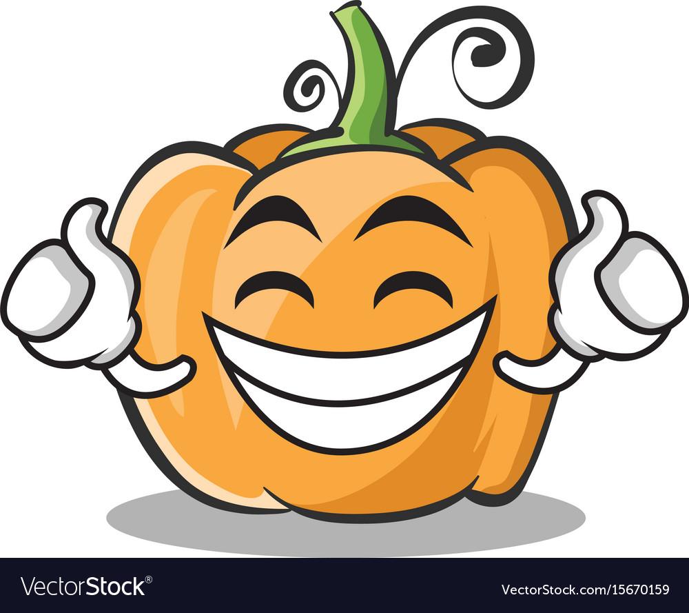 Proud face pumpkin character cartoon style vector image proud face pumpkin character cartoon style vector image thecheapjerseys Choice Image