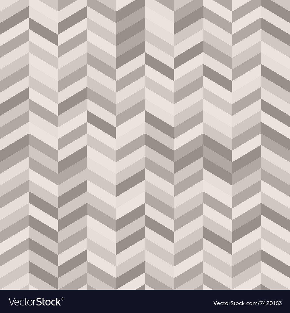 Zig Zag Abstract Background in Shades of Warm Gray vector image