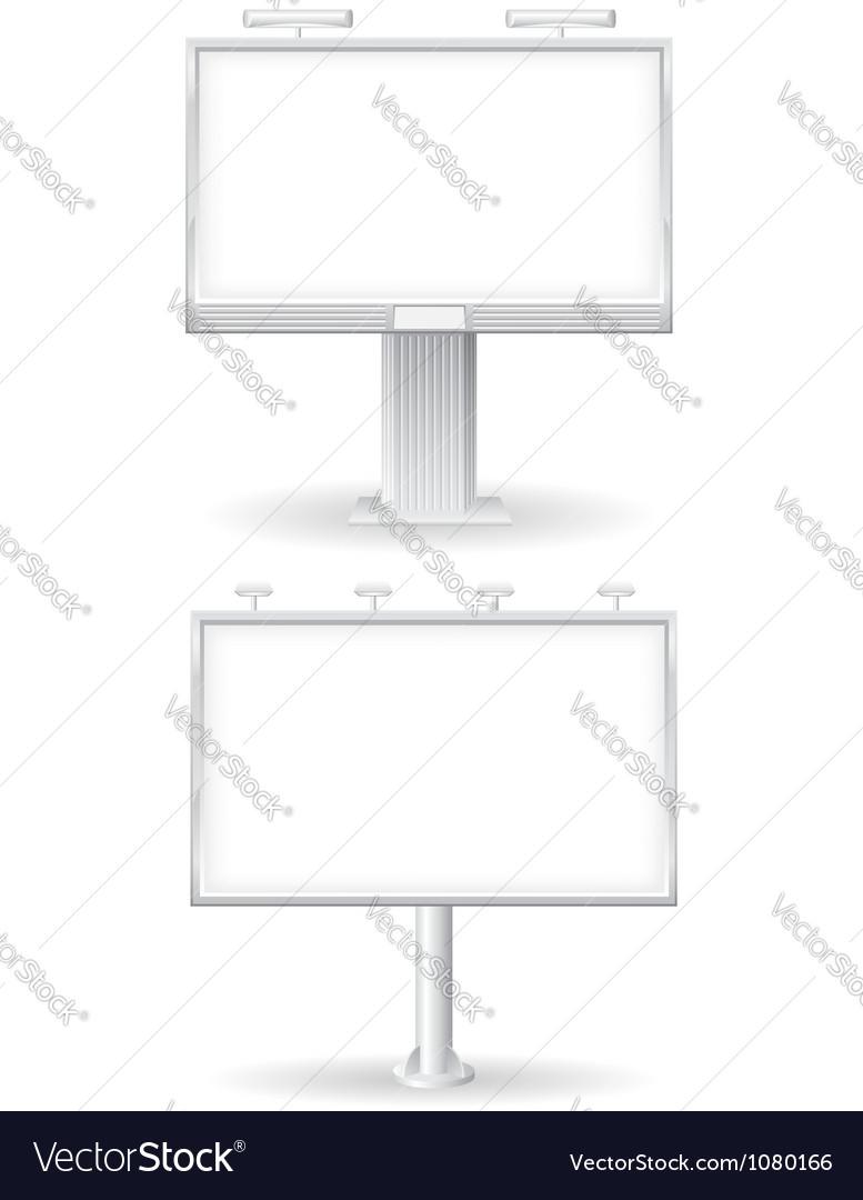 Billboard 02 vector image