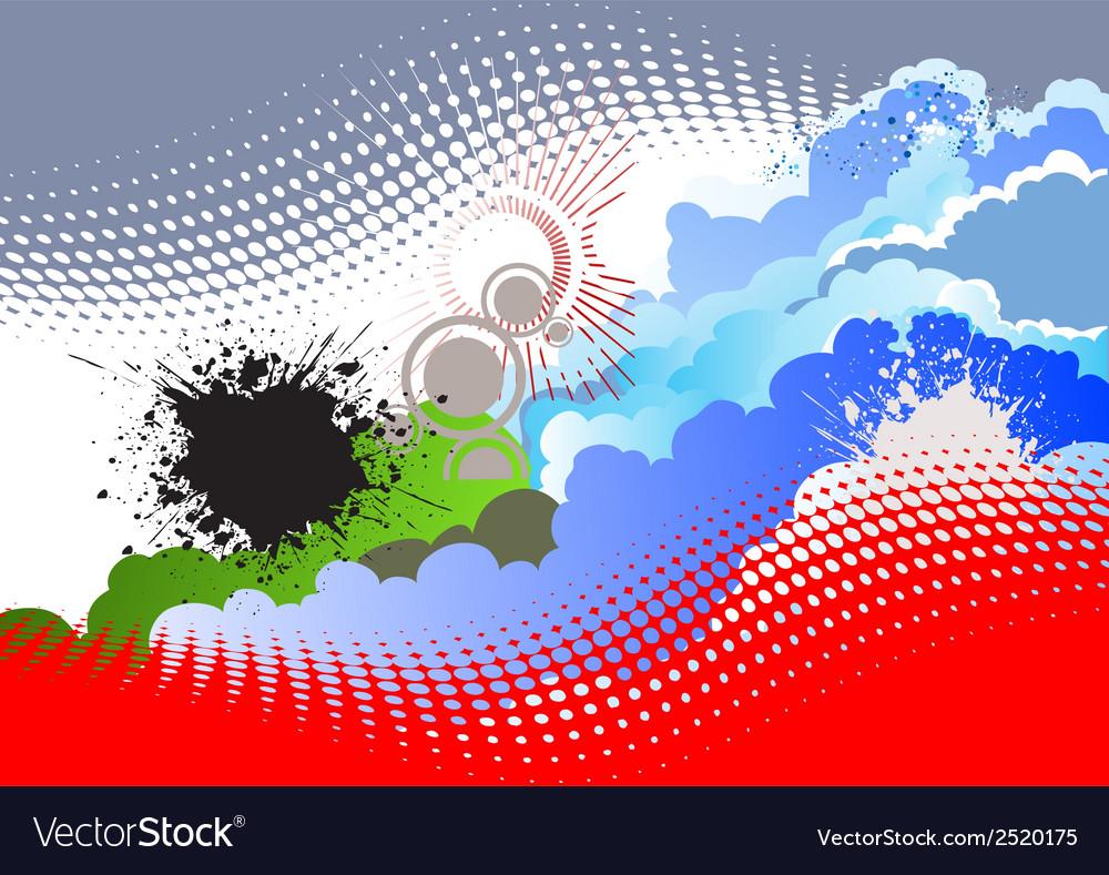 Al 0913 panorama vector image