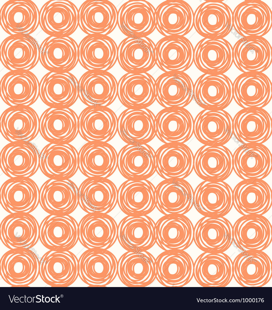 Rounds pattern vector image