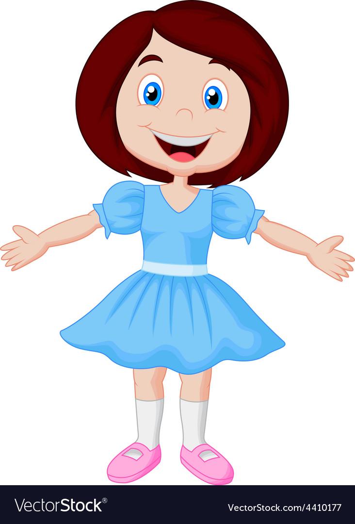 Images: cute little girl cartoon | Cute little girl