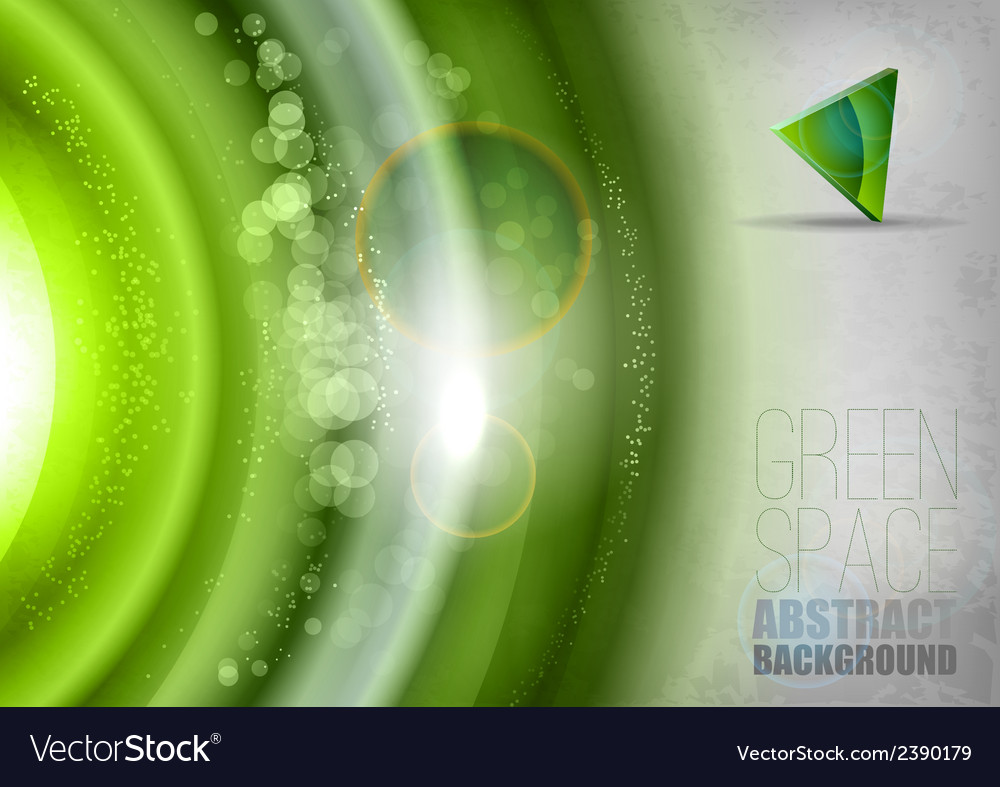 Green Universe vector image