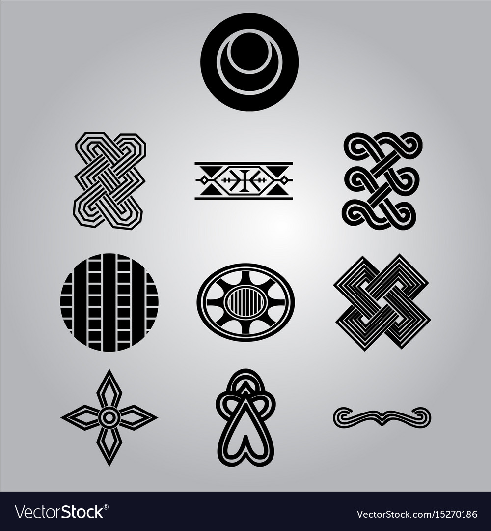 African ornaments collection royalty free vector image african ornaments collection vector image buycottarizona