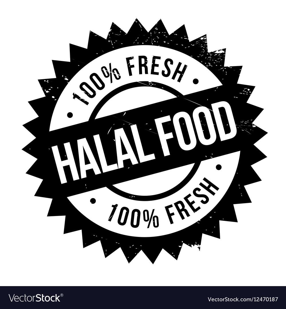 Halal food stamp royalty free vector image vectorstock halal food stamp vector image buycottarizona
