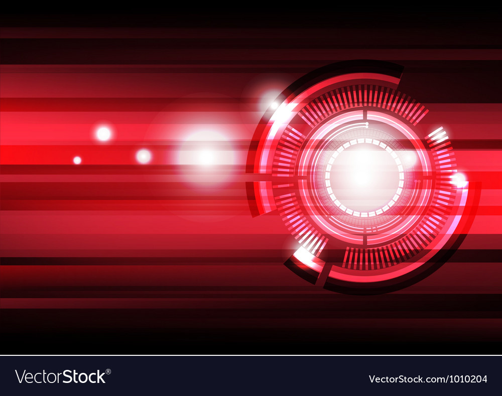 Future tech background vector image