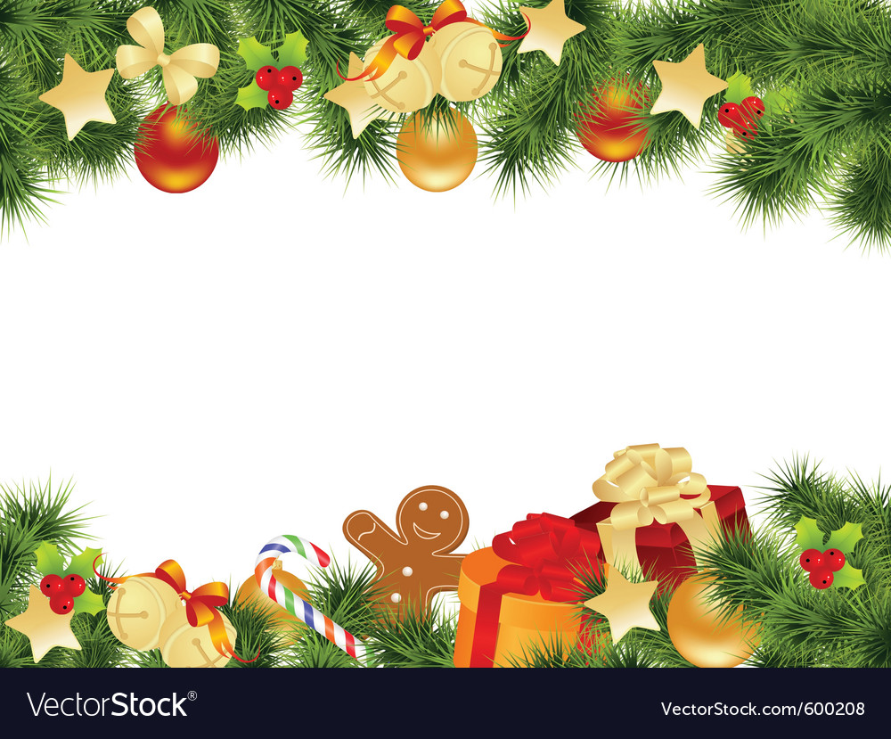 Holiday Background Or Greeting Card: Christmas Card Background Royalty Free Vector Image