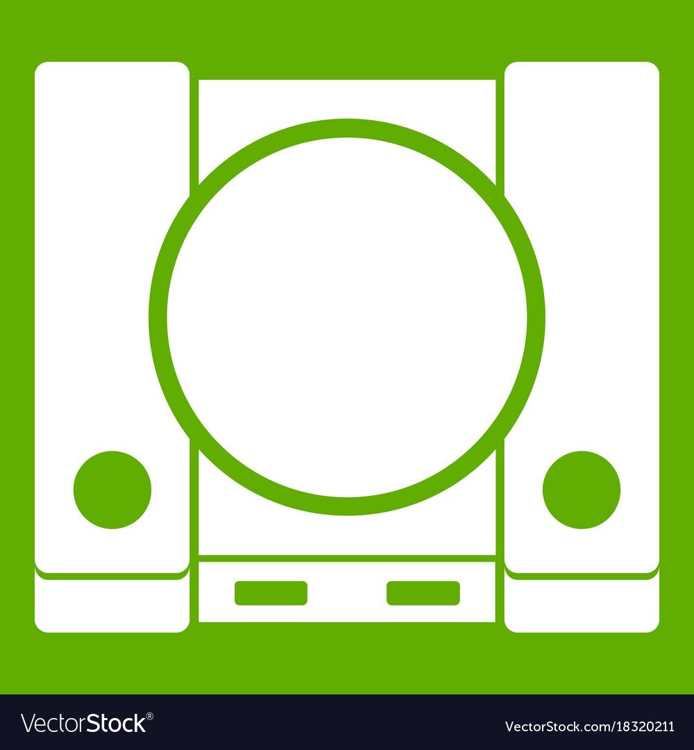 Playstation icon green royalty free vector image playstation icon green vector image buycottarizona