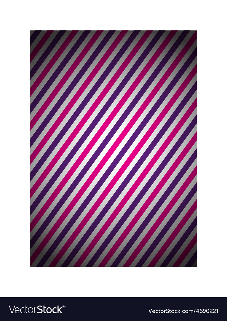 Purple and pink strip background vector image
