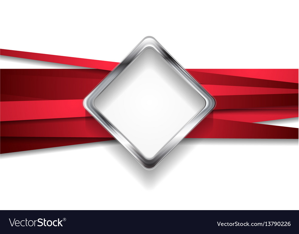 Corporate abstract tech background vector image
