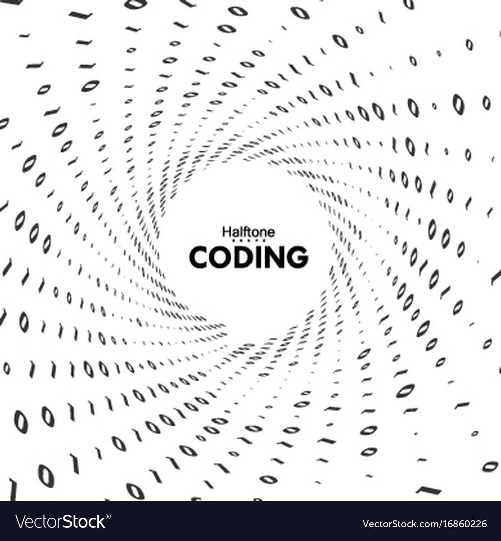 Streaming binary code 3d shape royalty free vector image streaming binary code 3d shape vector image biocorpaavc Gallery