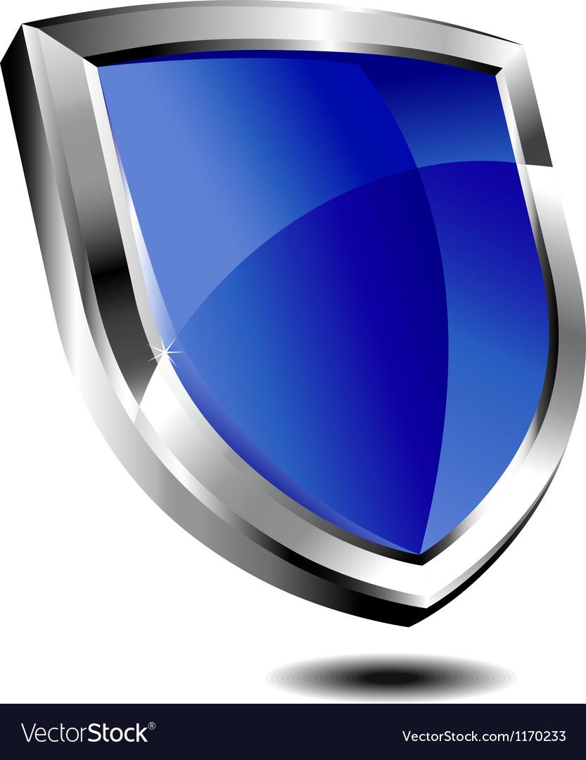 Blue Shield vector image