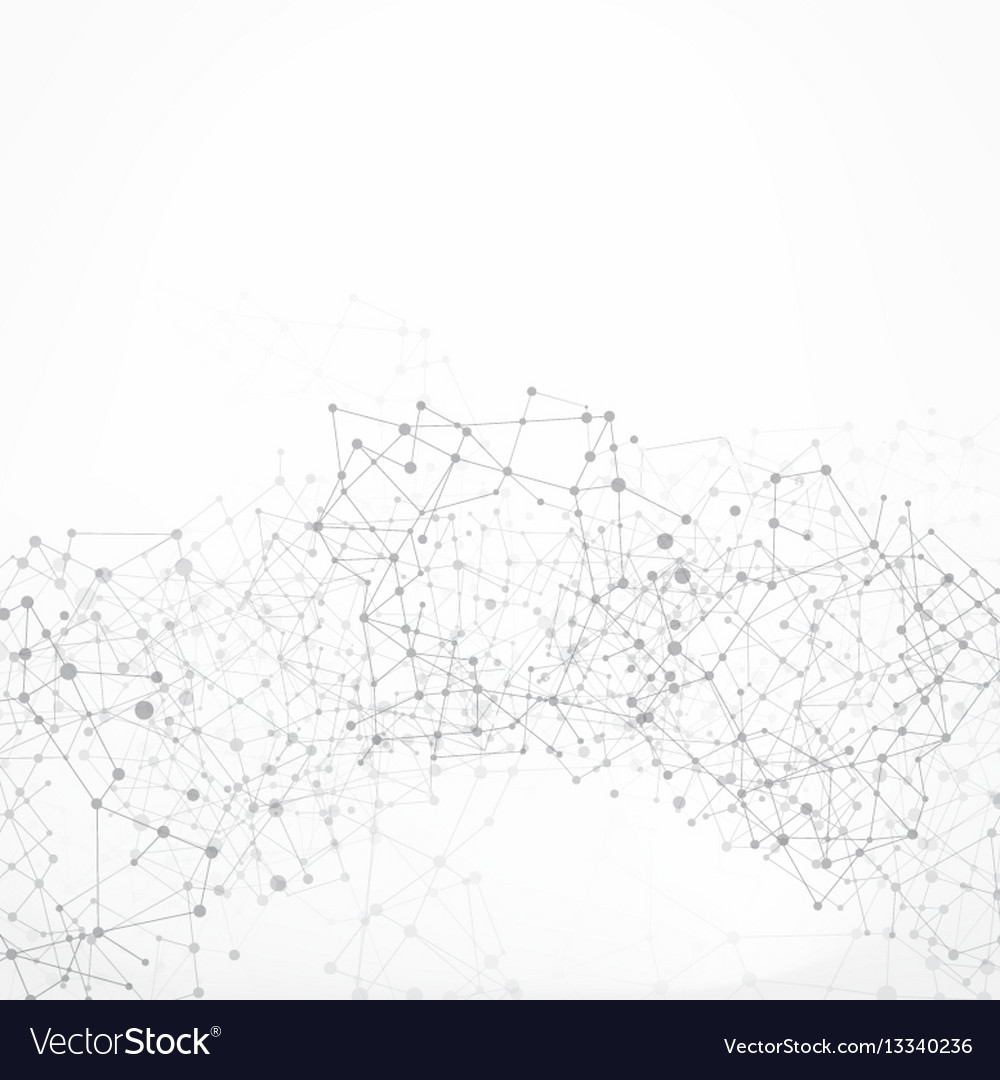 Abstract background network connect concept with vector image
