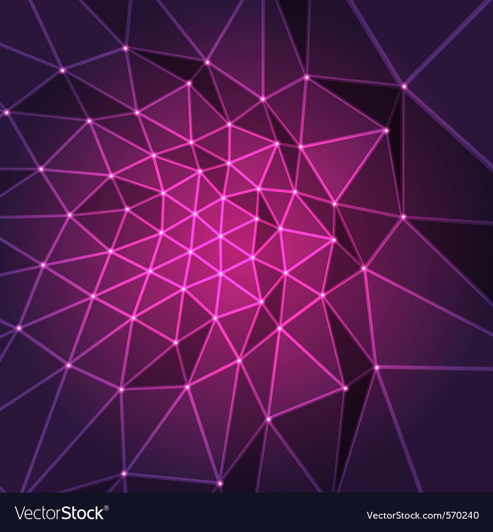 Purple abstract modern background Vector Image