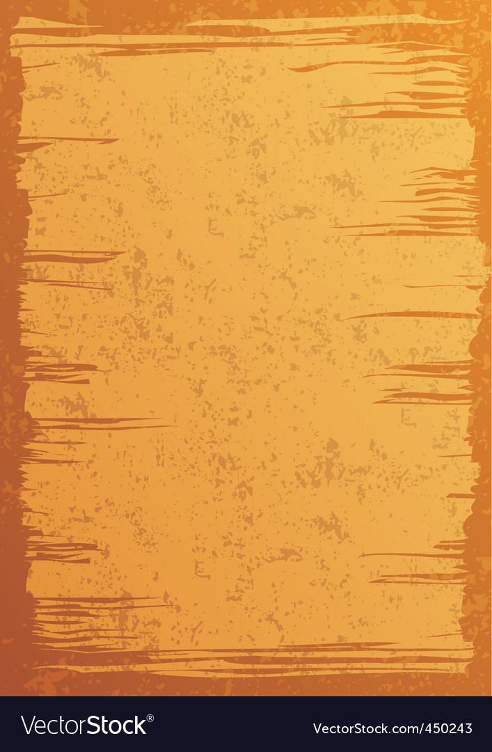 Pergament vector image