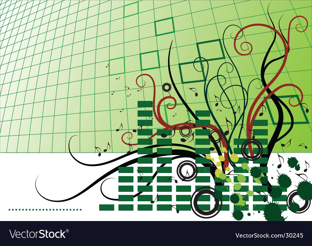 Abstract background with grid vector image