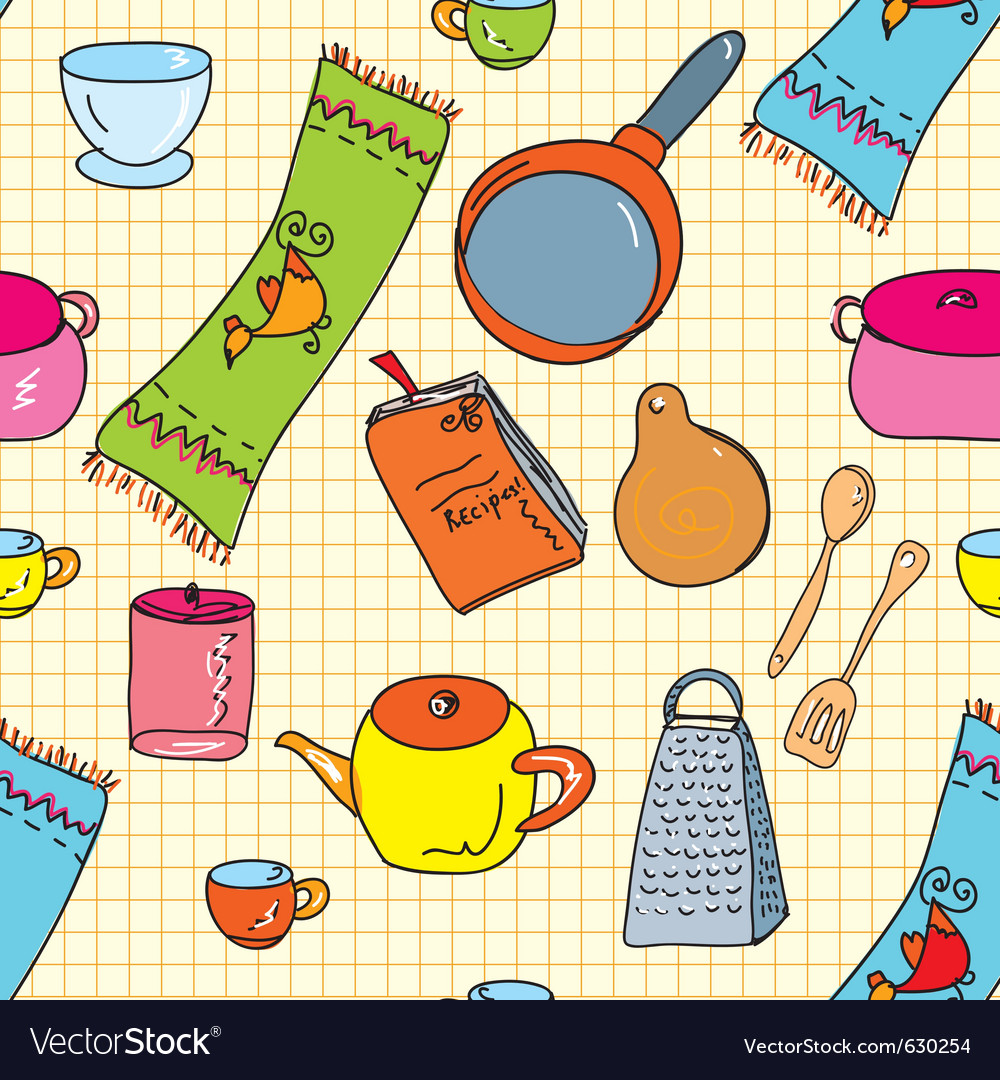 Kitchen Wallpaper on Kitchen Wallpaper Vector 630254 By Tasia12