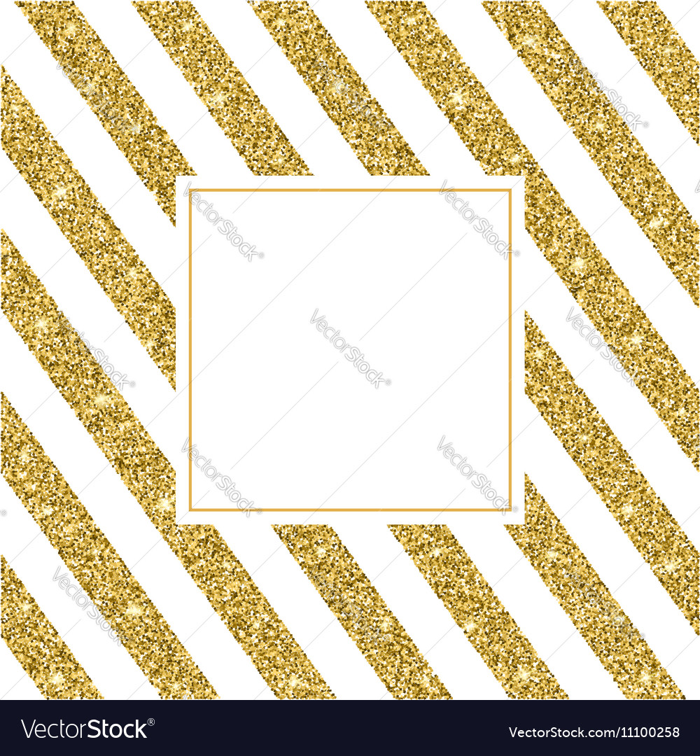 Gold glitter bright vector transparent background golden sparkles - Gold Glitter And Bright Sand White Background Vector Image