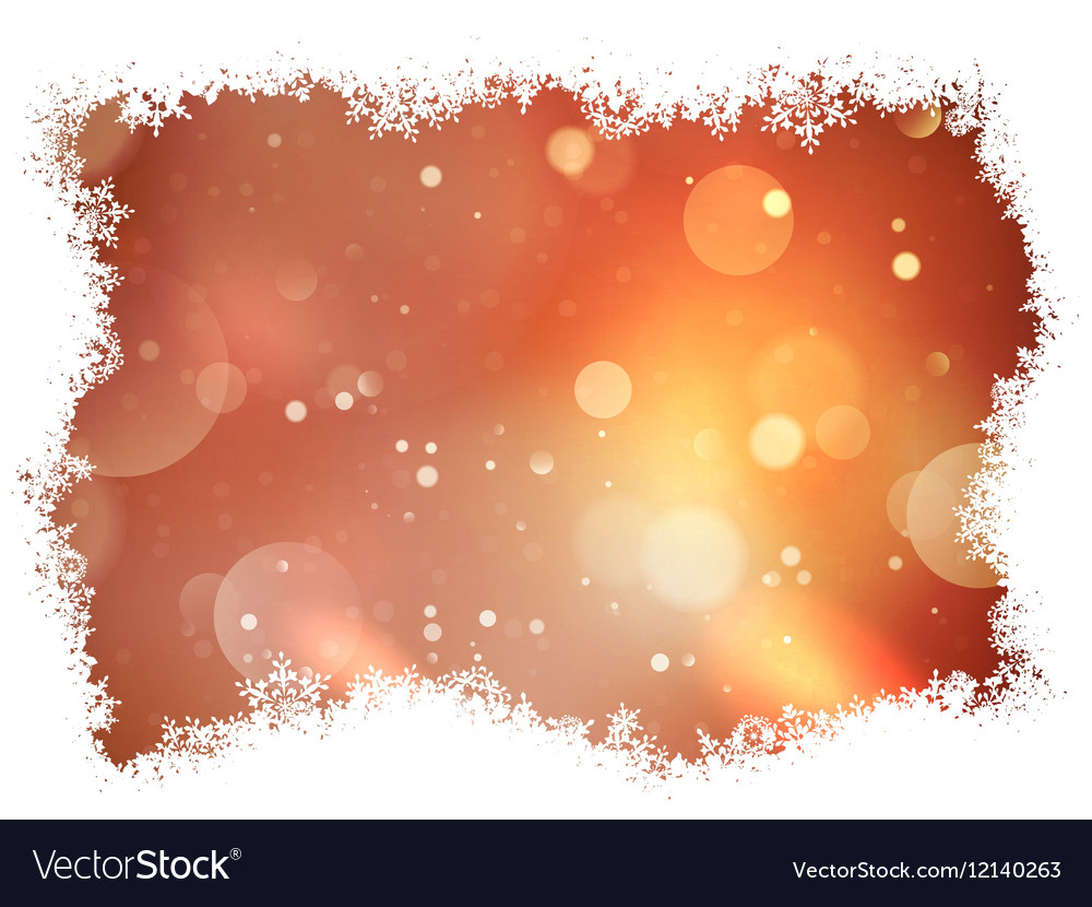 Abstract christmas background EPS 10 vector image