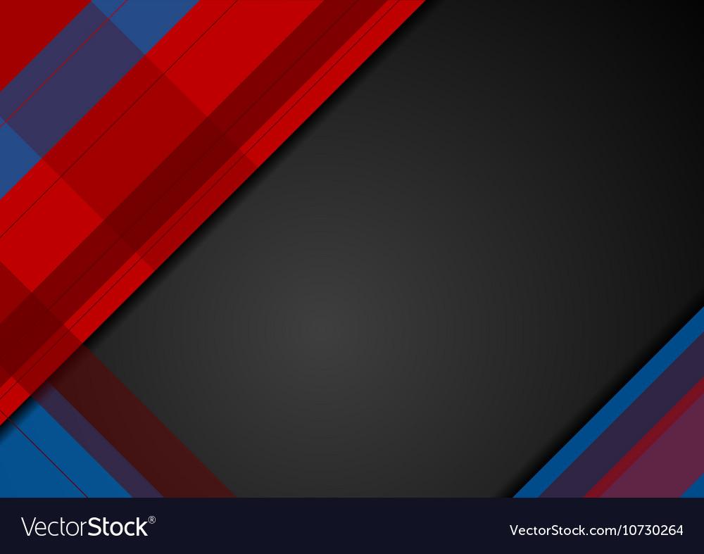 Abstract dark geometric minimal background vector image