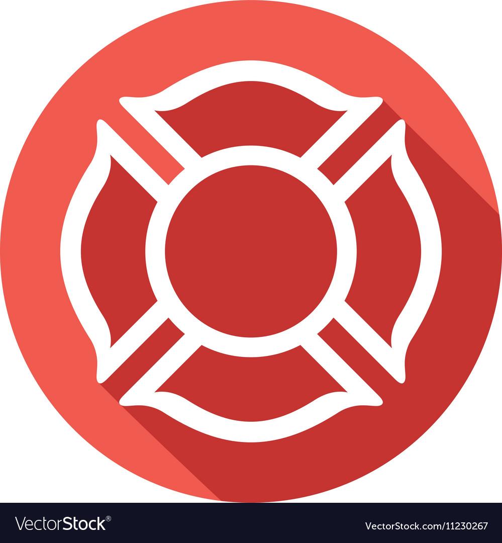 Fire fighters maltese cross symbol icon royalty free vector fire fighters maltese cross symbol icon vector image biocorpaavc