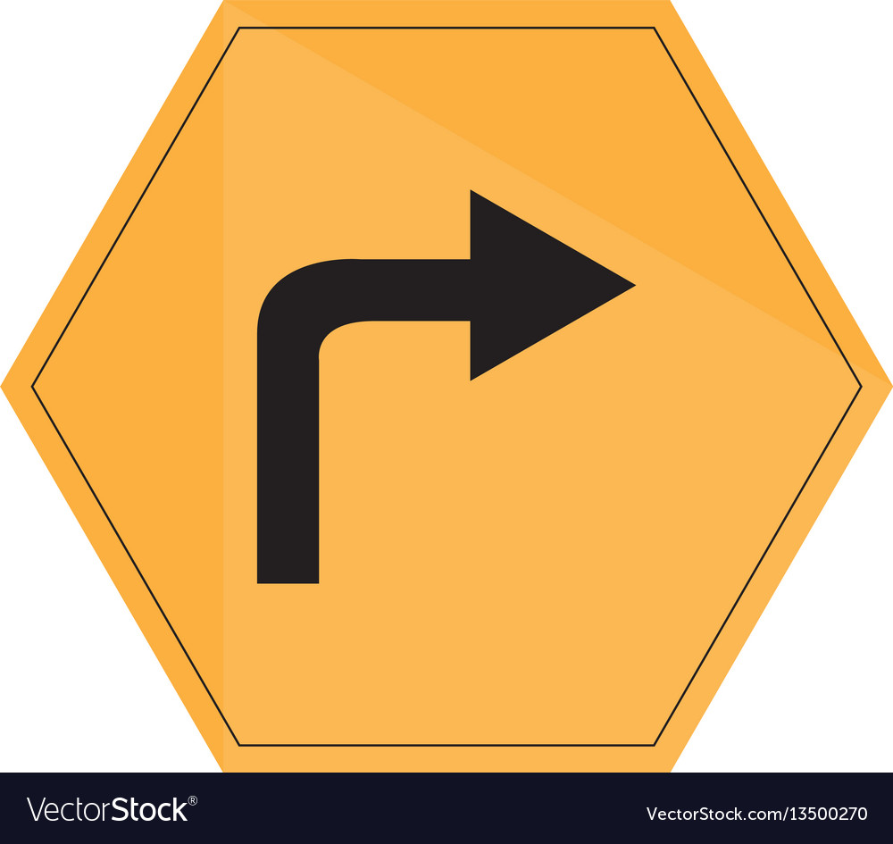 Isolated transit signal vector image