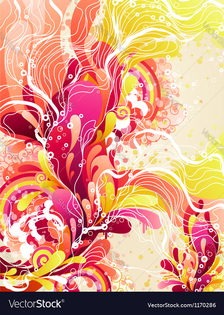 Colorful candies splash vector image