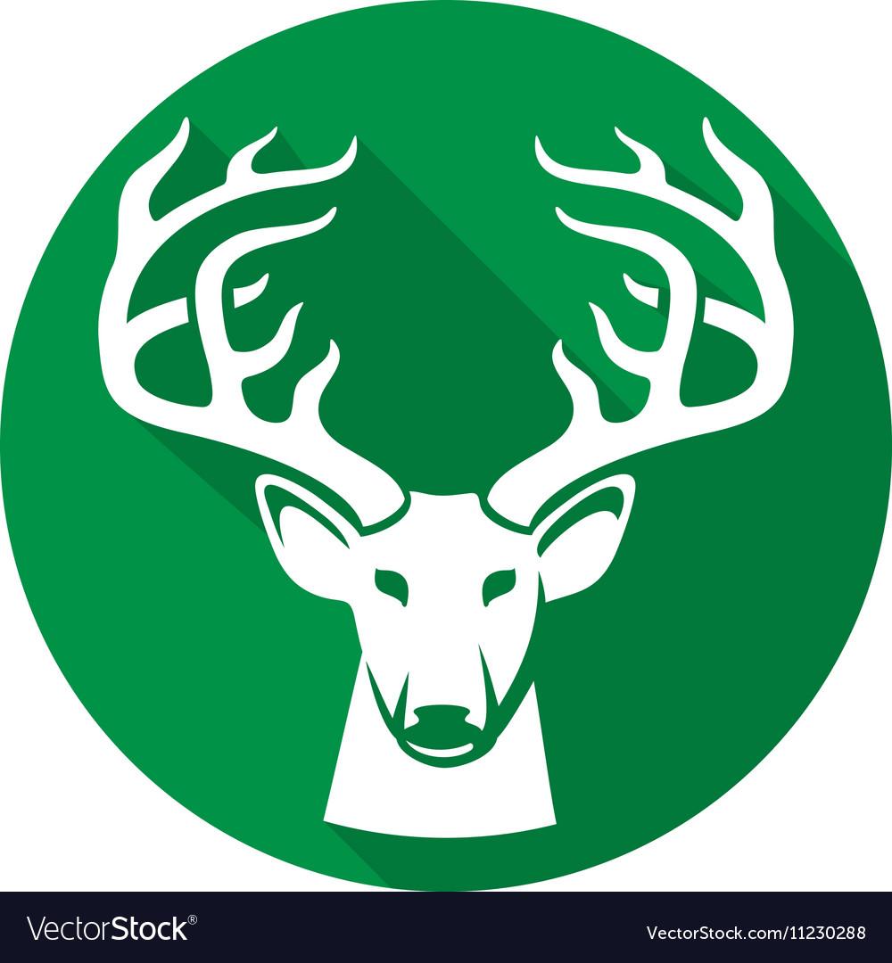 Deer Icon vector image