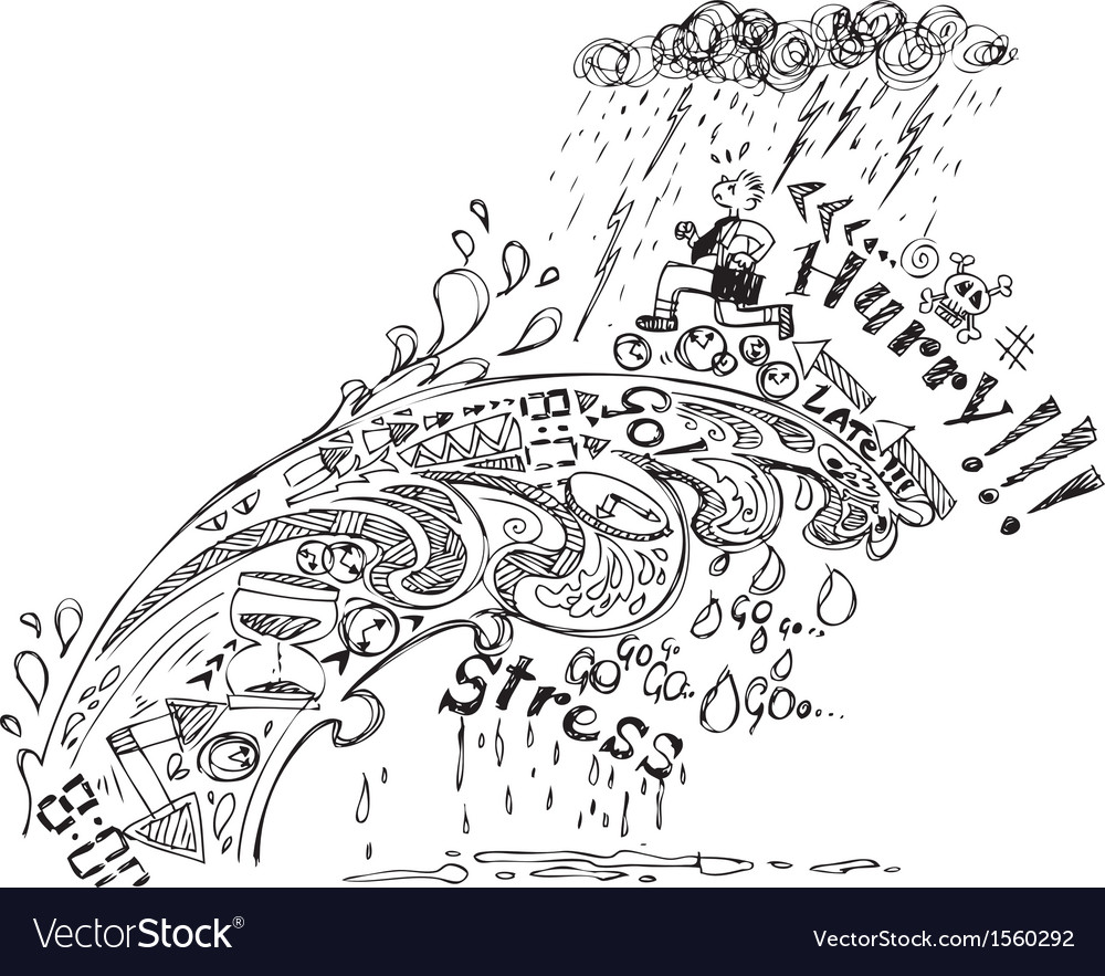 Stress and time wave vector image