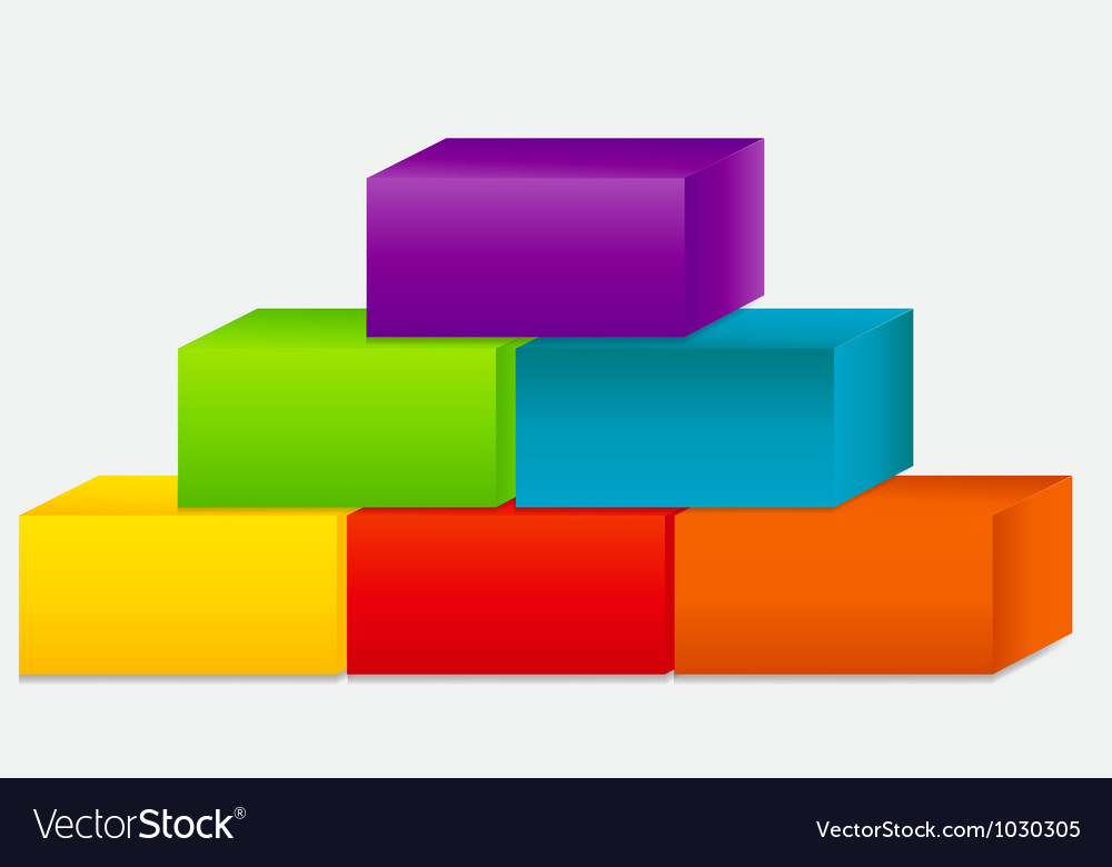 Concept of colorful banners with arrows for vector image