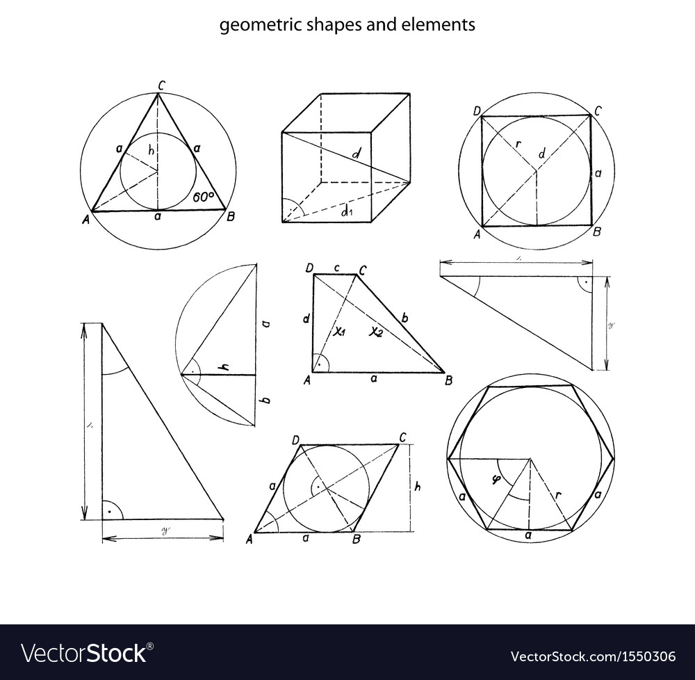 Geometrics vector image