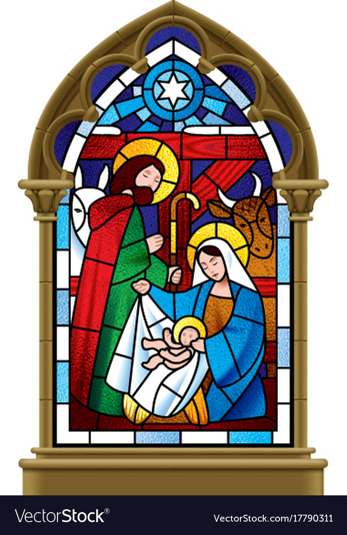 Free Nativity Stained Glass Patterns Facebook