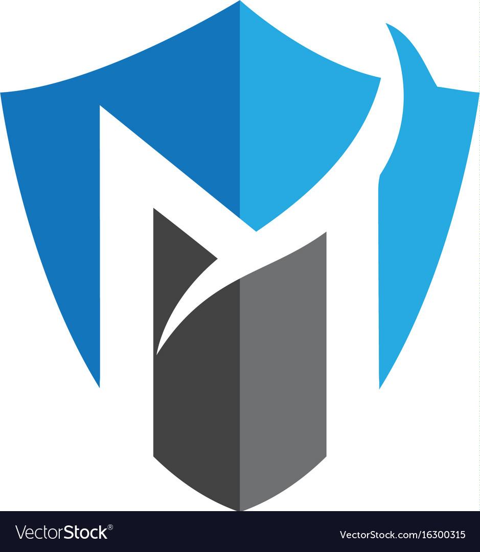 Vector Logo For Letter M Design Template Stock Vector Letter F Logo ...