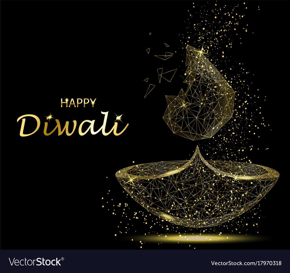 Happy diwali greeting card deepavali light and vector image happy diwali greeting card deepavali light and vector image kristyandbryce Gallery