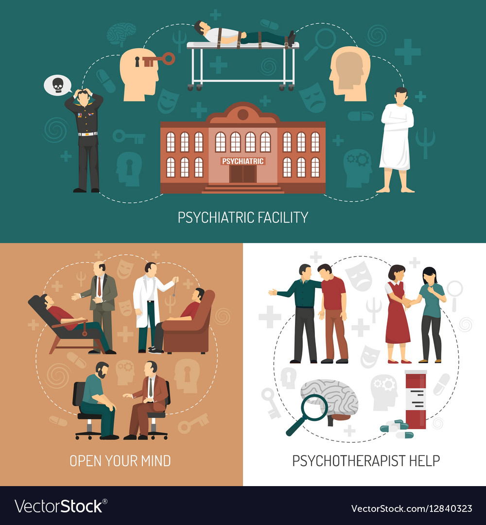 Psychologist Design Concept vector image