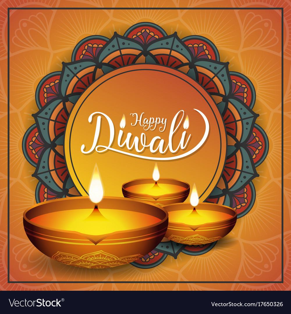 Diwali festival background royalty free vector image diwali festival background vector image kristyandbryce Gallery