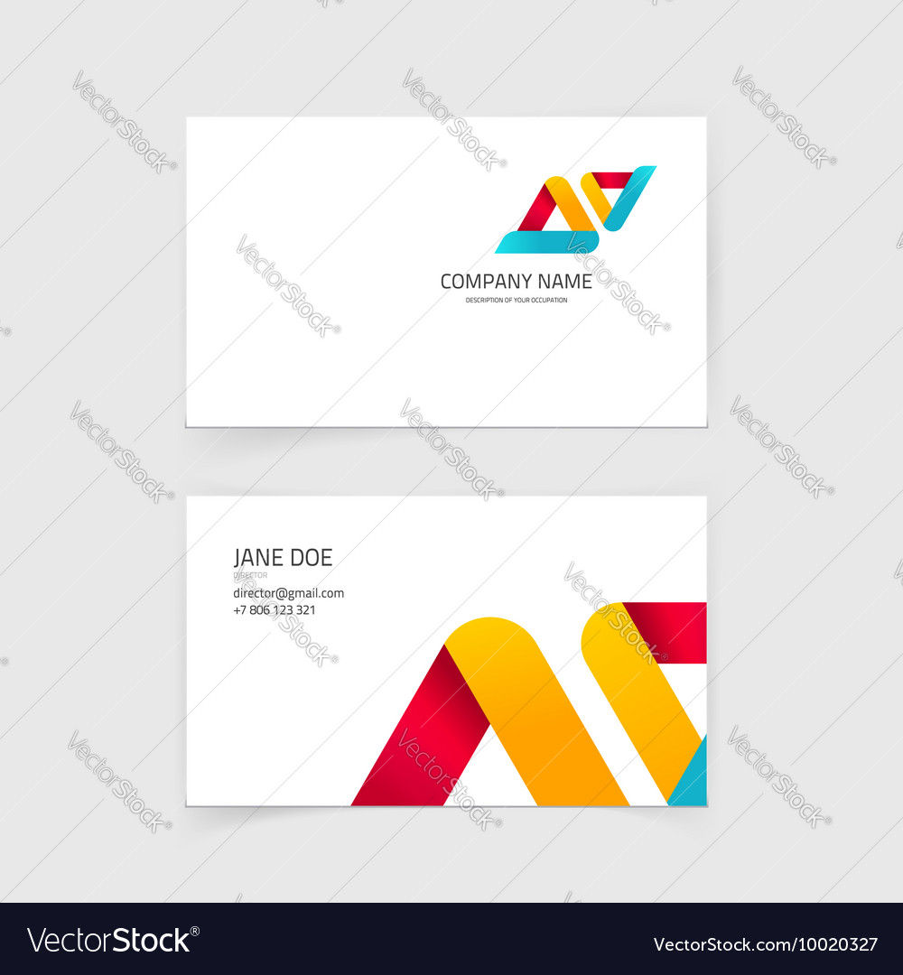 Business visiting card layout design with vector image business visiting card layout design with vector image magicingreecefo Choice Image